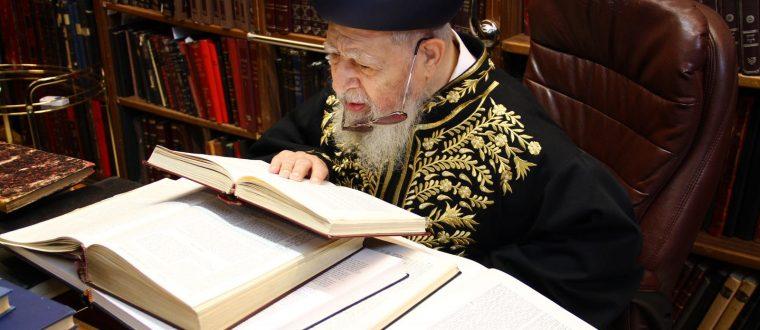 """עונג שבת אצל מרן הרב עובדיה יוסף זצ""""ל"""
